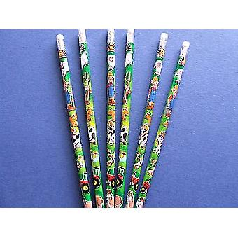 6 Farm Themed Pencils for Party Bags | Birthday Loot Bag Filler Favours