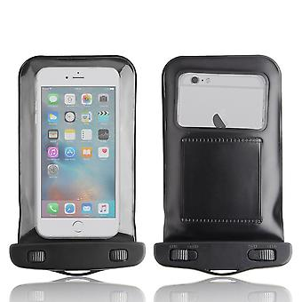 InventCase Waterproof Dustproof Bag Protective Case Cover for iPhone 6 / iPhone 6s / iPhone 6 Plus / iPhone 6s Plus - Black