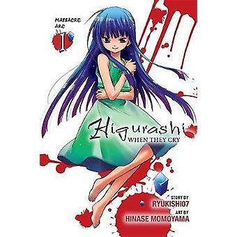 Higurashi When They Cry Massacre Arc Vol. 1 by Ryukishi07 & Karin Suzuragi