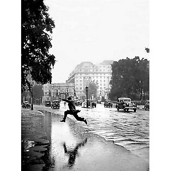 Hyde Park London 1939 Poster Print by Photography Collection (23 X 31)