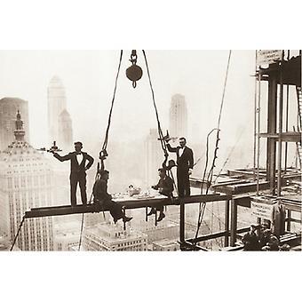 Mittagessen über Manhattan Poster drucken (36 x 24)