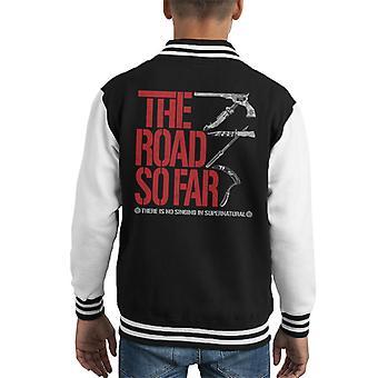 Supernatural The Road So Far Kid's Varsity Jacket