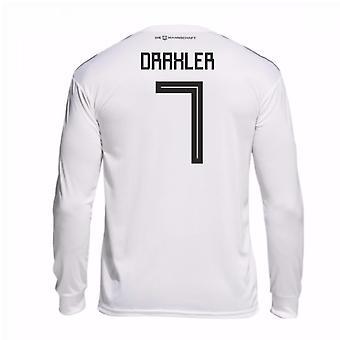 2018-19 Germany Home Long Sleeve Shirt (Draxler 7)