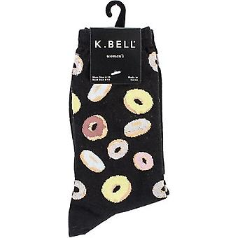 Novelty Crew Socks-Donuts NOVSOCKS-6H009