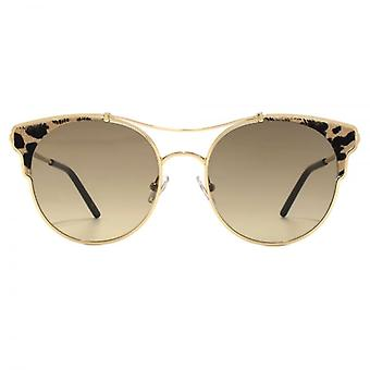 Jimmy Choo Lue Sunglasses In Leopard