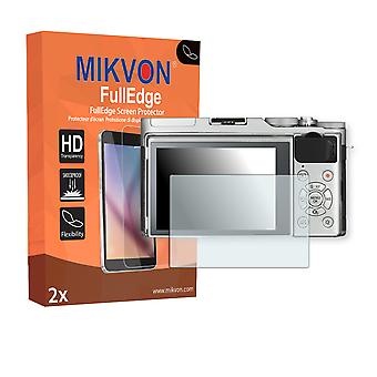 Fujifilm X-A3 screen protector - Mikvon FullEdge (screen protector with full protection and custom fit for the curved display)