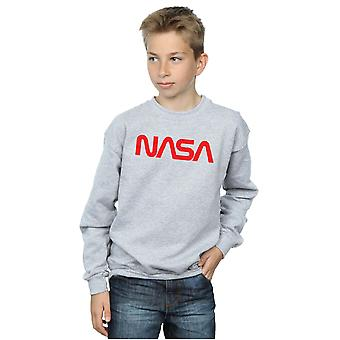 NASA Boys Modern Logo Sweatshirt