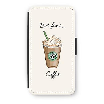 Huawei P8 Lite (2015-2016) Flip Case - But first coffee