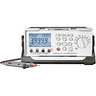 VOLTCRAFT VC650BT Bench multimeter Digital Calibrated to: ISO standards CAT II 600 V Display (counts): 40000