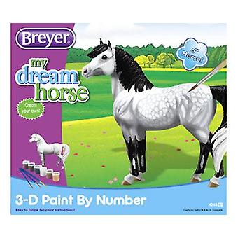 Breyer Paint Horse By 3D Numbers (Babies and Children , Toys , Educative And Creative)