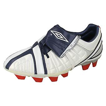 Boys Umbro Football Boots X-500-J KTK FG
