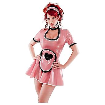 Westward Bound Heart Maid's Latex Rubber Uniform.