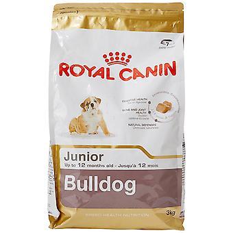 Royal Canin Dog Food Bulldog Junior 30 Dry Mix 3 kg