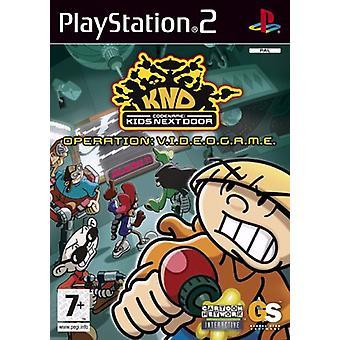 Kodnamn Kids Next Door (PS2)