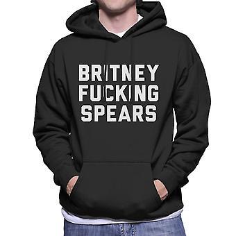 Britney Fucking Spears Men's Hooded Sweatshirt
