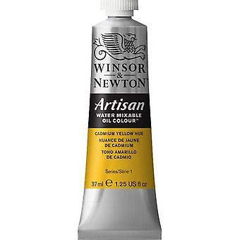 Winsor & Newton Artisan vatten blandbart olja färg 37ml (109 kadmium gul nyans S1)