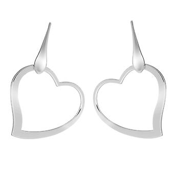 Orphelia Silver 925 Earring Big Heart  ZO-7193