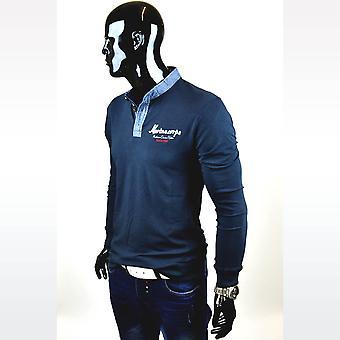 Mannen overhemd lange mouw lange mouw shirt Figurbetont trui clubwear