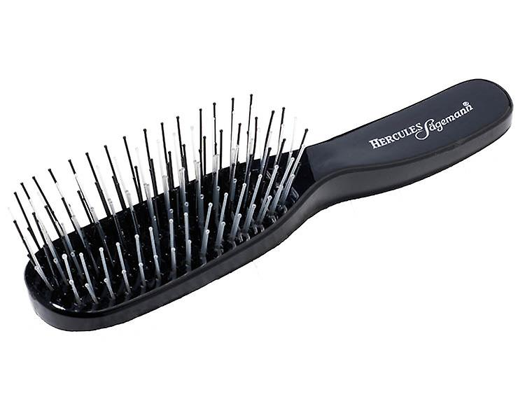 Hercules Sagemann Detangling Hair Brush Black Small