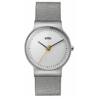 Braun vrouwen ' s klassieke lijn mesh armband BN0211WHSLMHL horloge