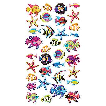 Sticko Stickers-Tropical Fish