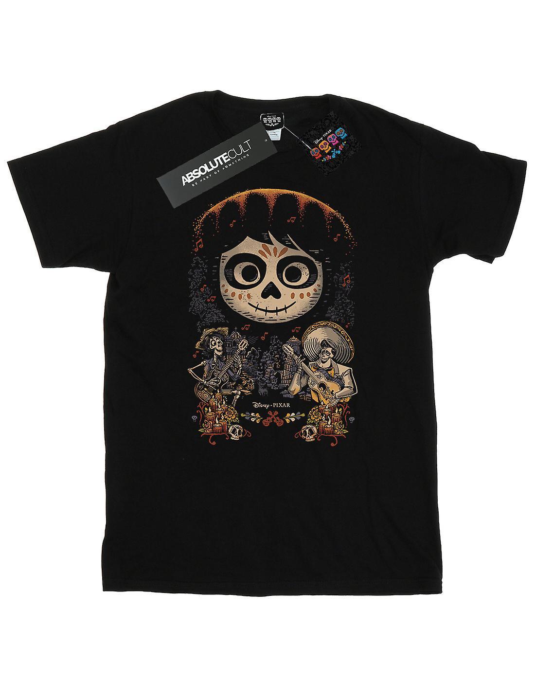 Disney Men's Coco Miguel Face Poster T-Shirt