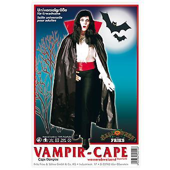 Vampir-Cape wasserabweisend Umhang Unisex Halloween Dracula