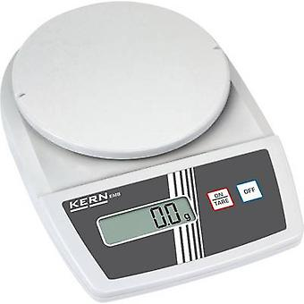 Kern Letter scales Weight range 0.5 kg Readability 0.1 g battery-powered, mains-powered (optional) White