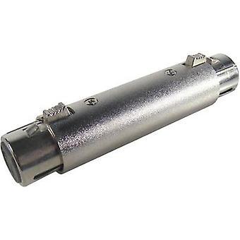Paccs XLR Adaptateur [1x XLR socket - 1x XLR socket] Argent