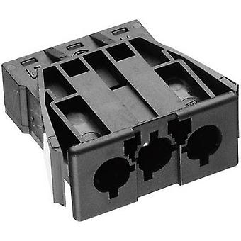 Mains connector AC Series (mains connectors) AC Plug, vertical mount Total number of pins: 2 + PE 16 A Black Adels-Contact AC 166 GEST/ 3 1 pc(s)