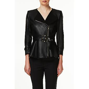 Jacket Black I18284 Liu Jo Woman