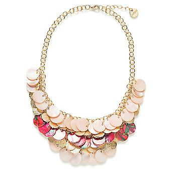 Desigual women's pendant necklace jewelry collar Colette 18SAGO36/3013