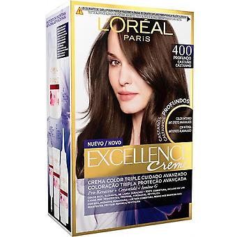 L'Oreal Professional Tinte Excellente Brunette #400 True Brown (Hair care , Dyes)