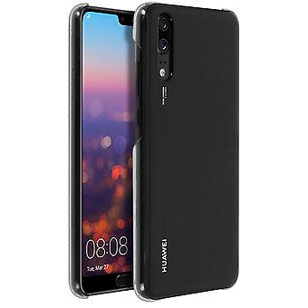 Original Huawei glossy hardcase, backcover for Huawei P20 - Black