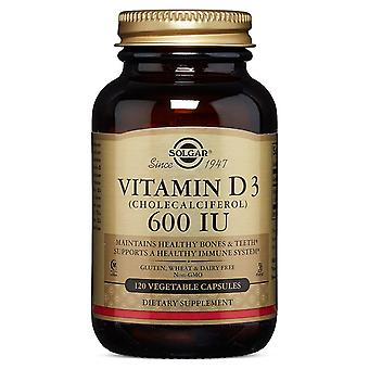 Solgar Solgar Vitamin D3 Cholecalciferol 600 IU Vegetable Capsules 120 ct