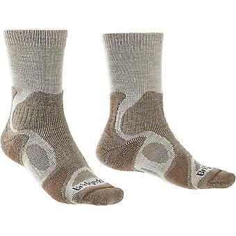 Bridgedale Mens Hike Lightweight T2 Merino Walking Socks