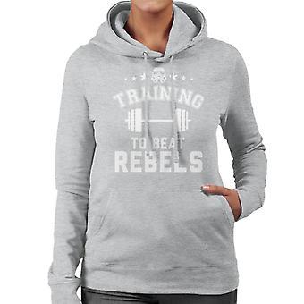 Formação original de Stormtrooper para batida rebeldes moletom com capuz feminina