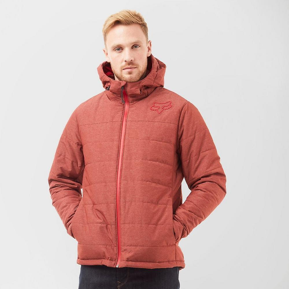 nouveau Fox Bishop veste À hommeches longues Full Zip veste rouge