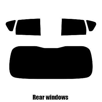 Pré coupé vitres teintées - Nissan Note - 2008 à 2012 - glaces arrière