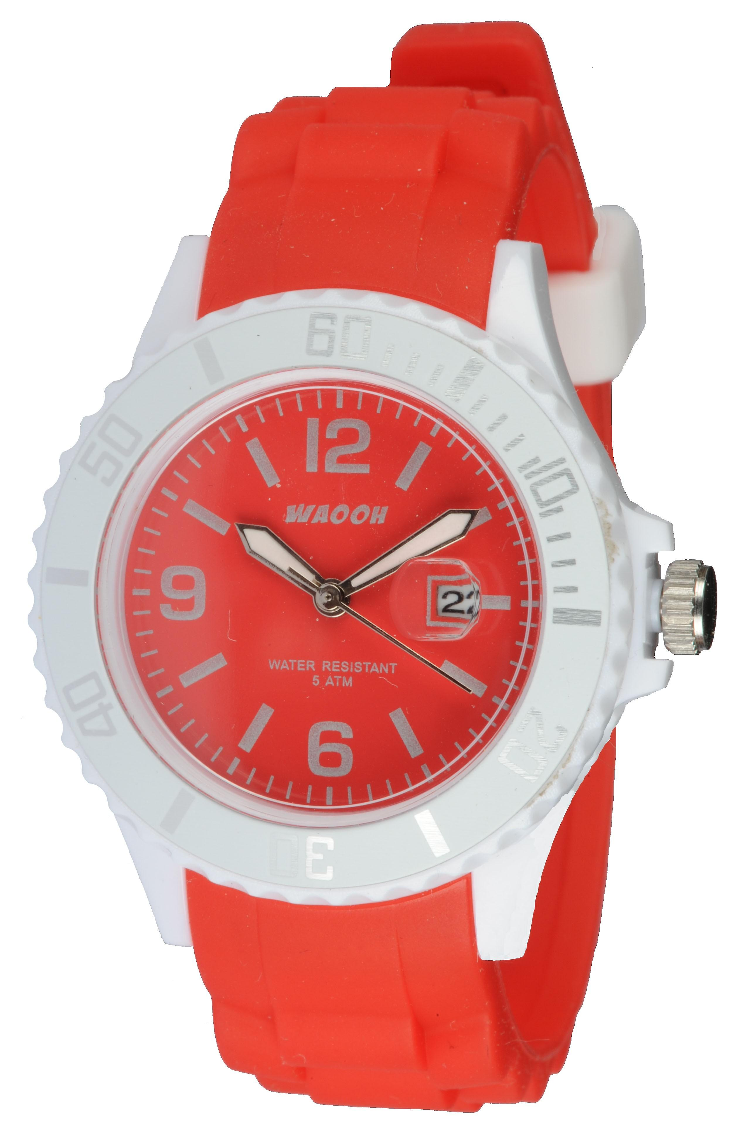 Waooh - Watch Silicone Monaco34 Bicolore