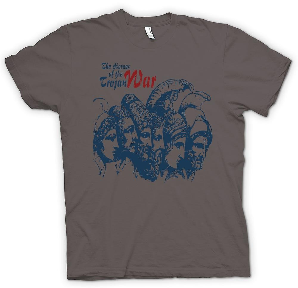 Womens T-shirt - The Heroes Of The Trojan War