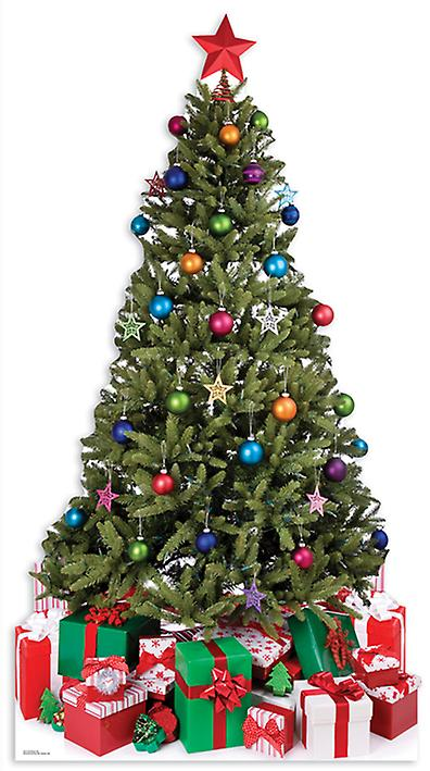 Small Christmas Tree (Christmas)Large Cardboard Cutout / Standee