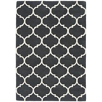 Albany Ogee Rugs In Charcoal