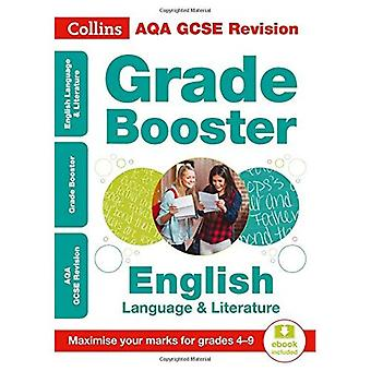 Collins GCSE Revision and Practice - New Curriculum - AQA GCSE English Language And English Literature Grade Booster for grades 4-9