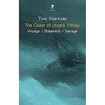 La trilogía de la costa de utopía: viaje, naufragio, salvar