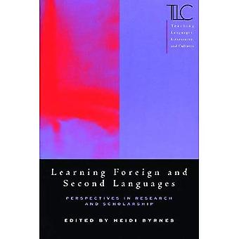 Learning Foreign and Second Languages Perspectives in Research and Scholarship