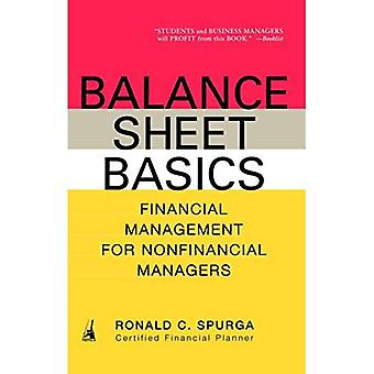Balance Sheet Basics: Financial Management for Non-Financial Managers
