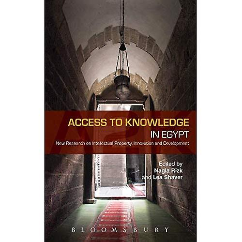 Access to Knowledge in Egypt  nouveau Research on Intellectual Property, Innovation and DevelopHommest