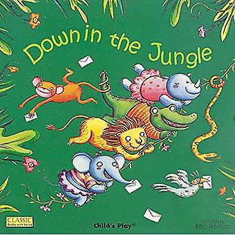 Down in the Jungle (Classic Board Books with Holes) (Classic Books with Holes)