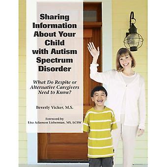 Sharing Information About Your Child with Autism Spectrum Disorder